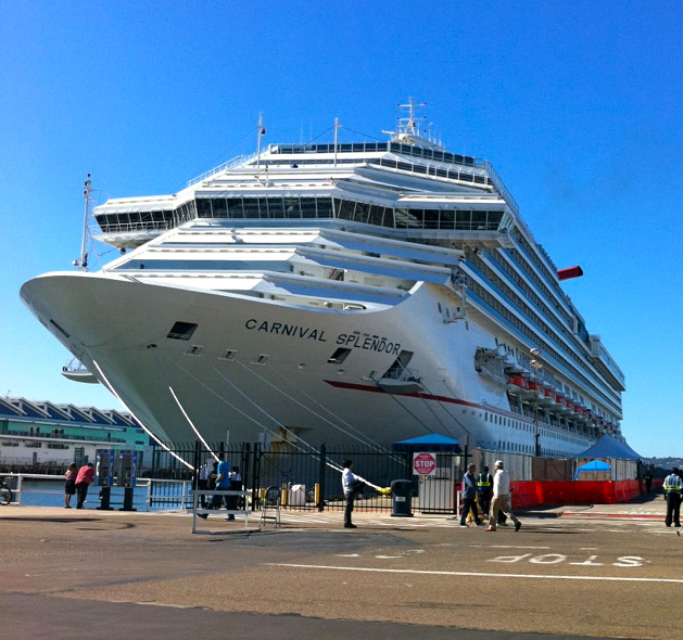 Fire Damaged Carnival Splendor Out Of Service Until February Garrett On The Road