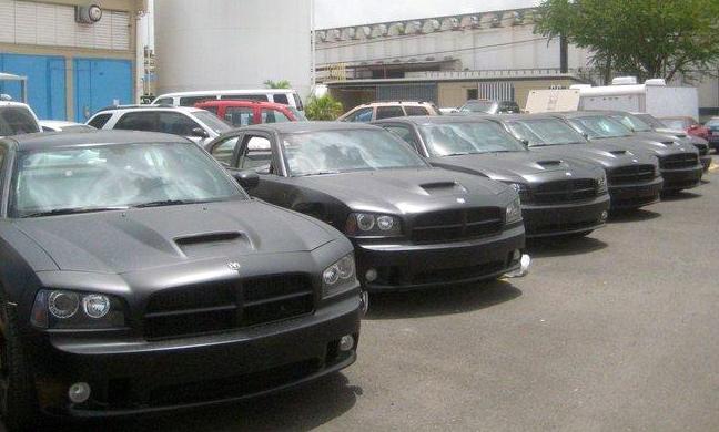Fast Five Cars