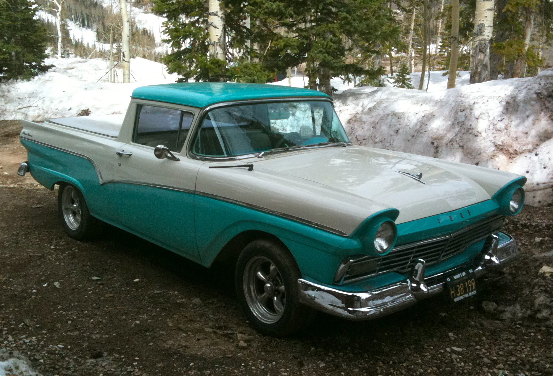 1957 Ford Ranchero Craigslist