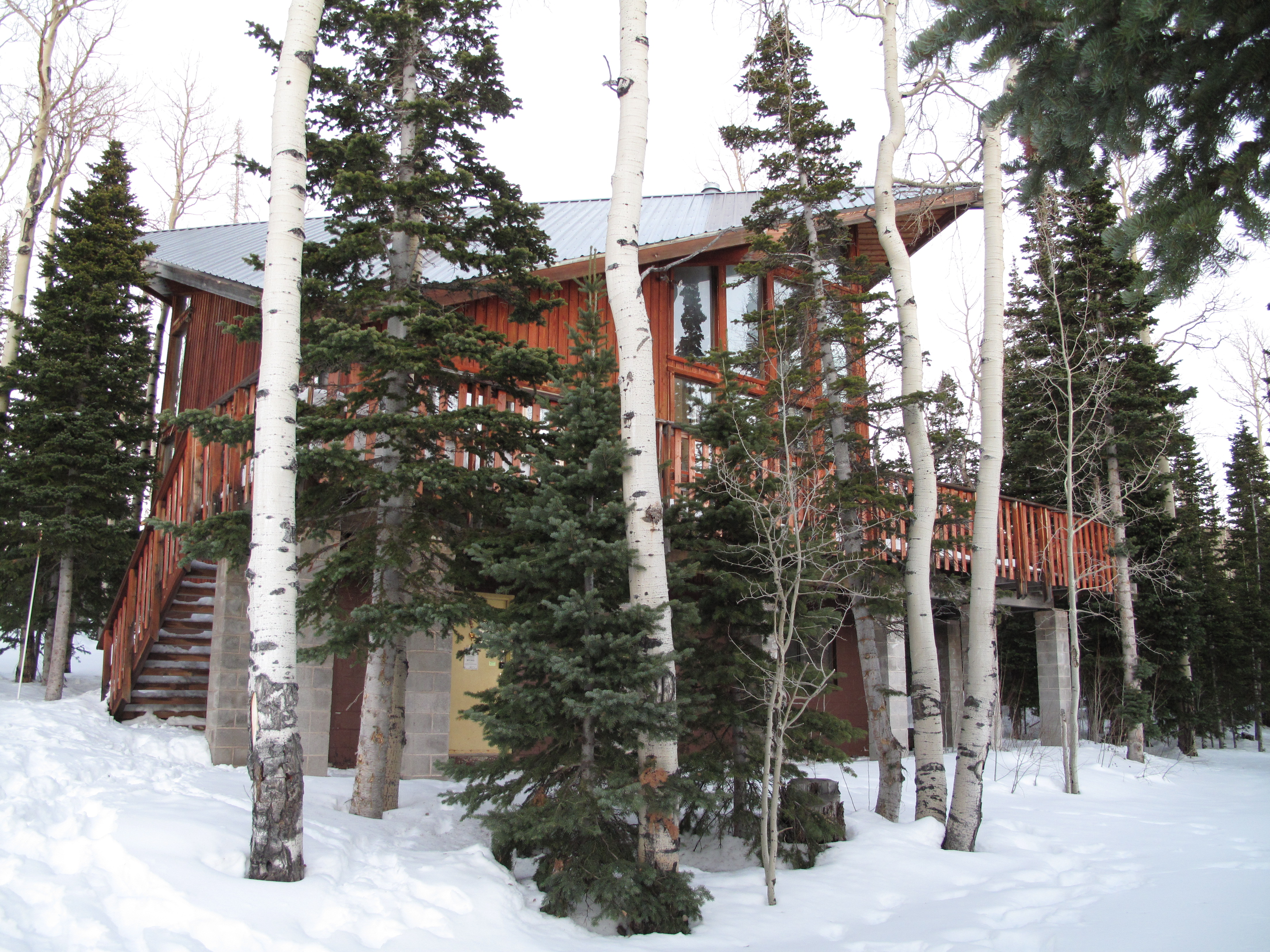 on red cabin blue bluebird can so deserve see lift you fresh head brian cabins rock beautiful exciting rentals be sky utah resort corduroy the runs first boasts day a