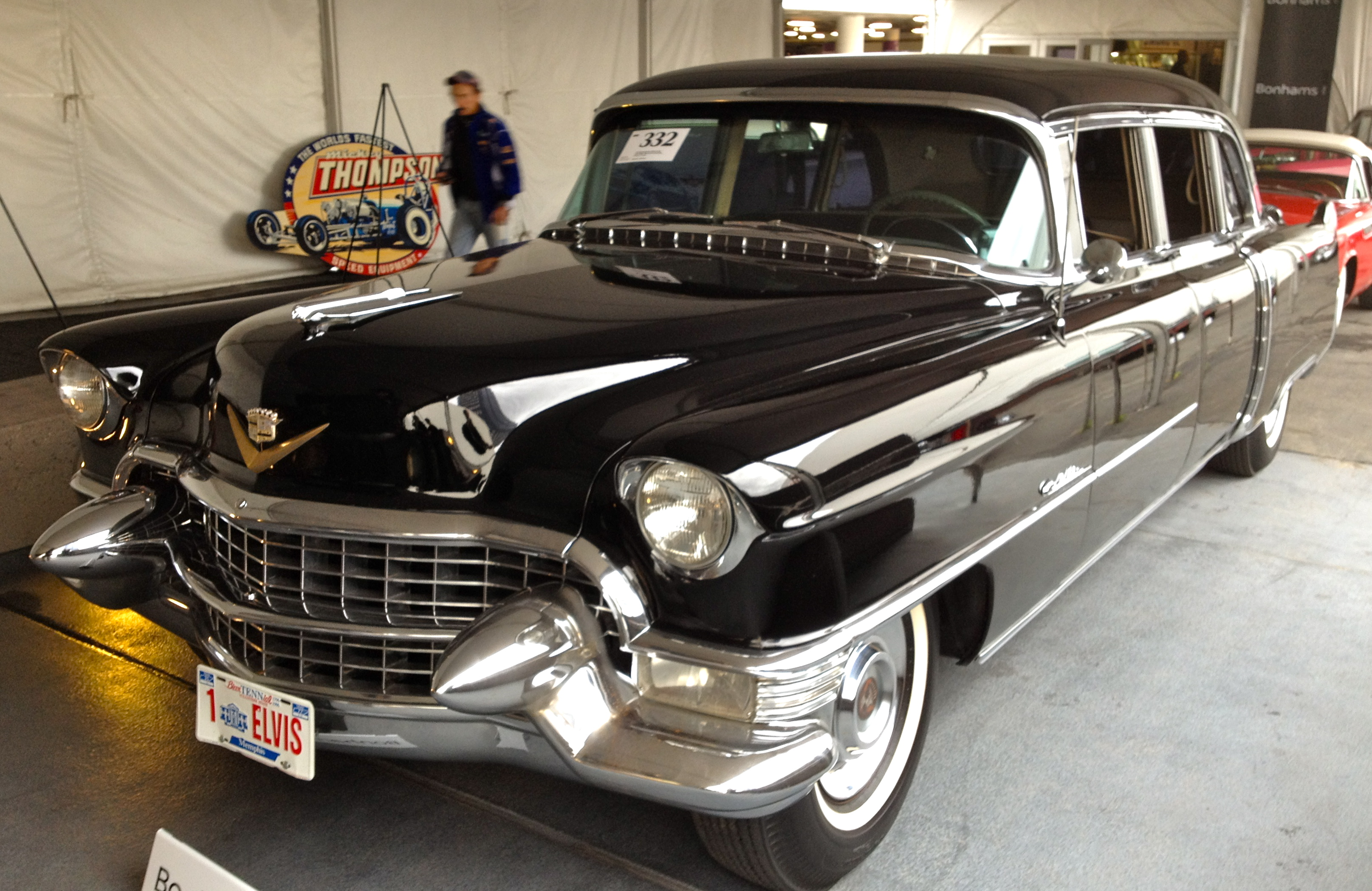 A Chance Encounter With Elvis Presley S First Cadillac Limousine