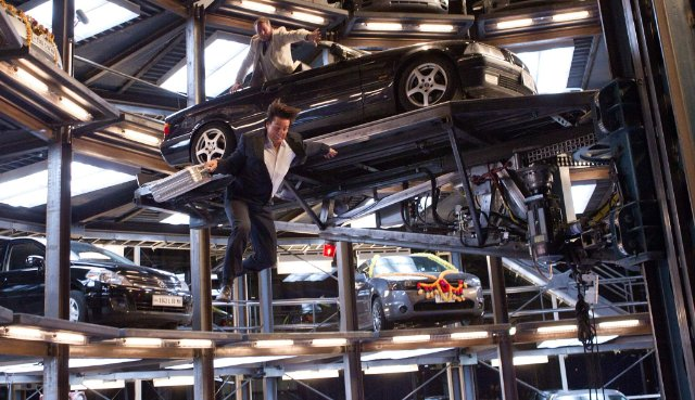 Car Parking In Mission Impossible Ghost Protocol