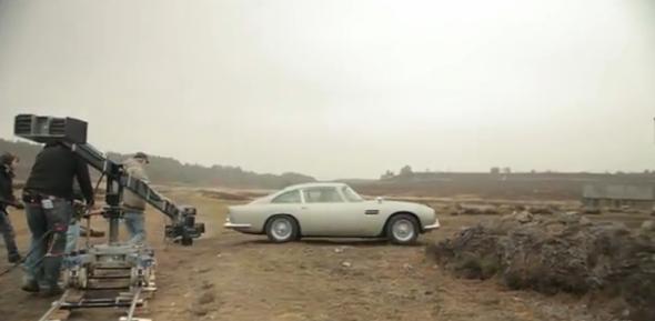 Seven Secrets Behind James Bond S Skyfall Aston Martin Db5 Garrett On The Road