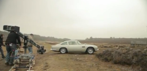 "The DB5 in its ""Skyfall"" guise."