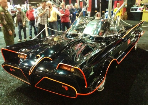 Is this the original Batmobile? (Jerry Garrett Photo)