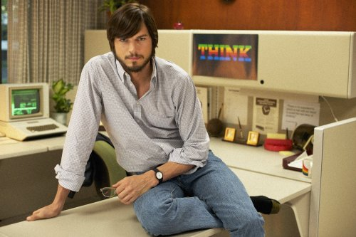 Ashton Kutcher is surprisingly convincing as Steve Jobs (Five Star Films)
