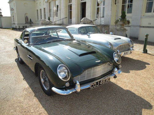 Which is the James Bond DB5?