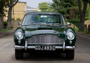 "The DB5 was ""discovered"" at the same factory where it was made. (RM Auctions)"
