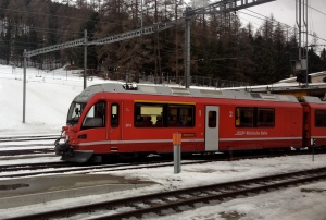 On the Bernina Express route