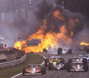 Peterson's crash