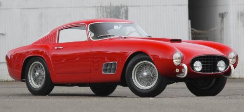 Collectors are as red-hot as the paint job for this 1957 Ferrari 250 GT (Gooding)
