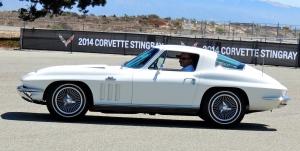 Wheeling a 1966 Sting Ray.