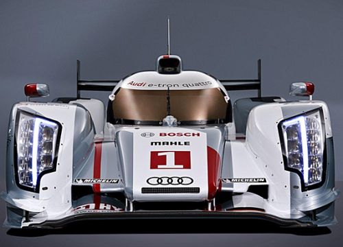 Audi races diesel-electric hybrids, but won't sell them. (Audi)