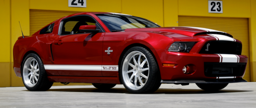 The Shelby GT500 Super Snake Mustang (Shelby American)