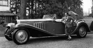 Bugatti and his Royale.