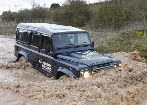 Land Rover proposed a battery-powered Defender earlier this year.