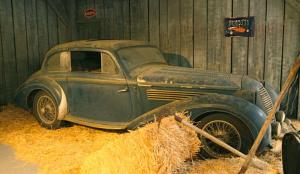 "Mullin Museum's ""true"" barn find Delahaye (AutoWeek)"