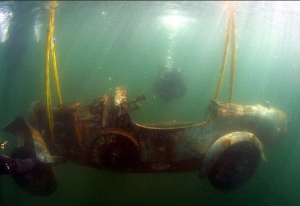Shown as found: The Bugatti of the Lake