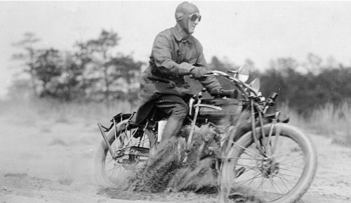 Cannonball Baker rode into American's automotive legend. (Don Emde Collection)