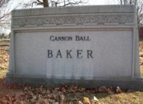 Baker's grave, Crown Pt. Cem.