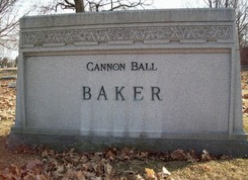 Baker's grave, Crown Hill Cem.