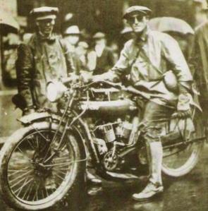 Baker re-fueling in 1914. (MOhistory.org)