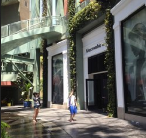 Abercrombie & Fitch in L.A.
