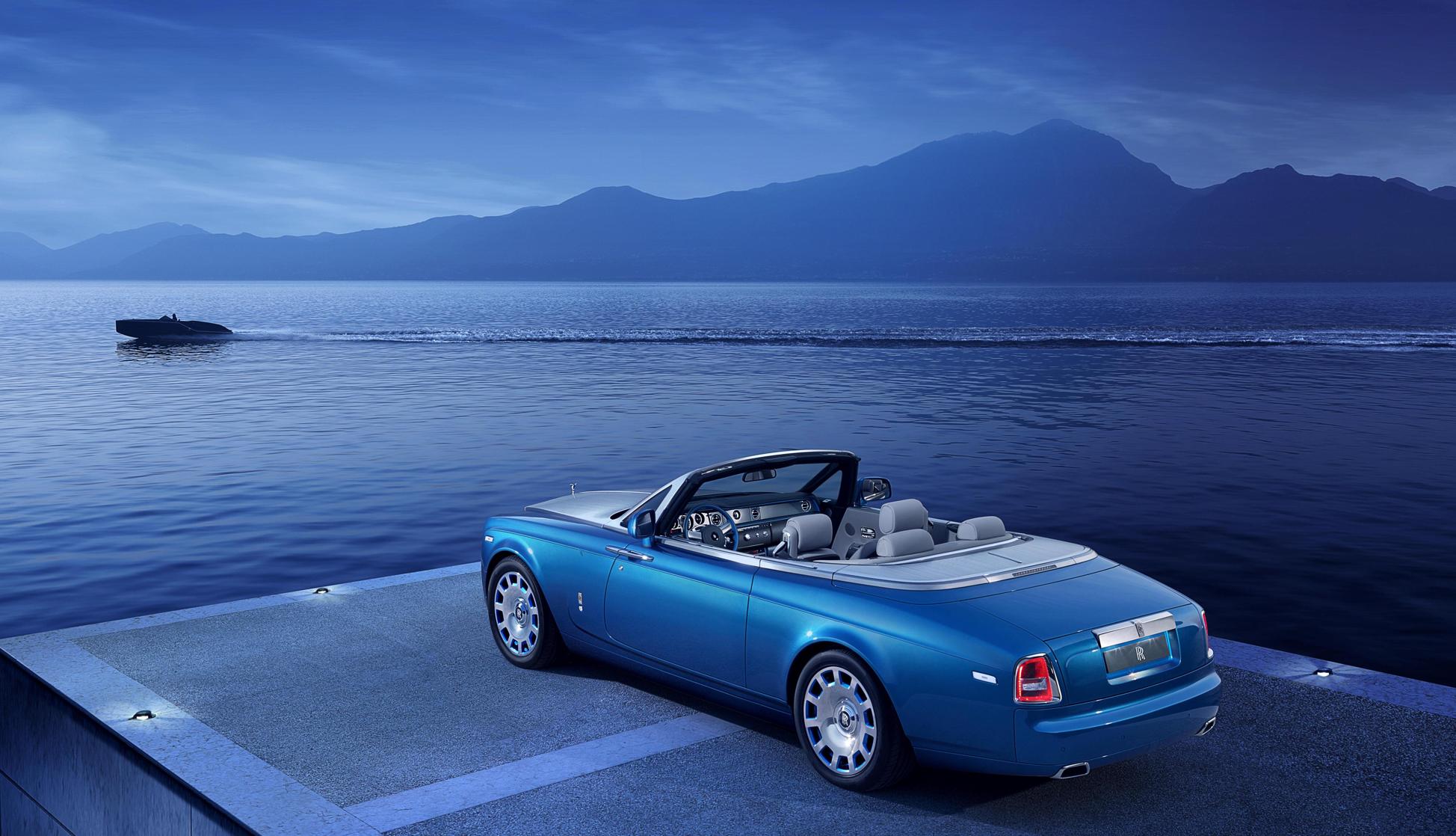 Rhapsody In Blue Rolls Royce Waterspeed Edition Heads To Villa D Este Garrett On The Road