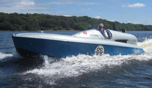 Editor's Note: A 20-year restoration of Bluebird K3 was completed in 2013. (UKboats.com)
