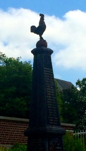 A typical French war memorial