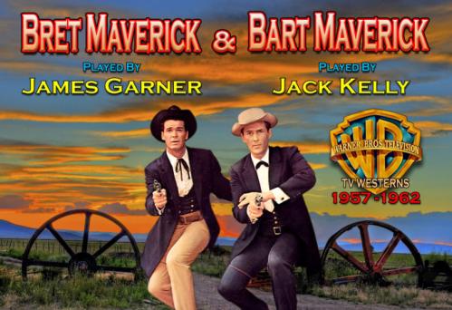 The original Maverick Brothers! (Warner Bros)