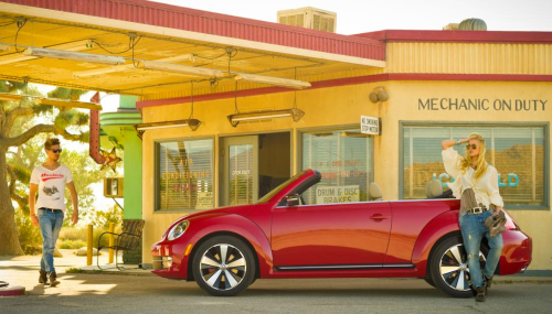 2015 VW Beetle Convertible - supermodels not included. (C&D)