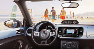 Beetle Convertible interior (beach not included) (VW)