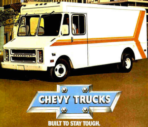 Manual for P-Series Chevy Step Vans.