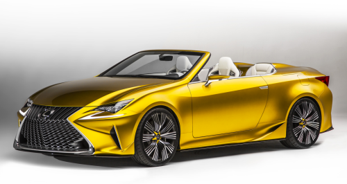 Isn't this what auto shows are all about? (Lexus photo)