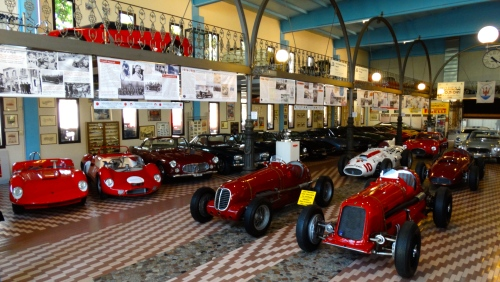 The fabulous Maserati Collection cars. (Jerry Garrett Photo)