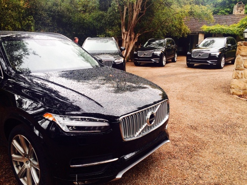 Volvo's new 2016 XC90 sport utility vehicles.