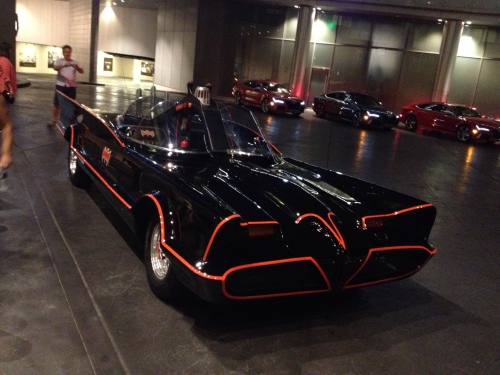 Batmobile in Las Vegas (Jerry Garrett Photo)